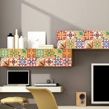 kitchen backsplash tile stickers italian tiles stickers pack of 18 tiles tile decals for