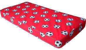 red football single mattress mattresses george at asda
