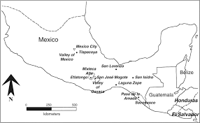 Mesoamerica Map Olmec Pottery Production And Export In Ancient Mexico Determined