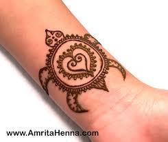 best easy henna turtle design for henna mehndi