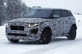 spy images from the latest suv by jaguar the e pace is masked as