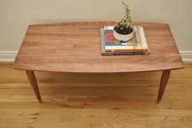 mid century modern surfboard coffee table stunning mid century coffee table also mid century modern coffee