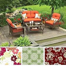 Patio Furniture Cushions Replacement Better Homes And Garden Patio Cushions Elcorazon Club