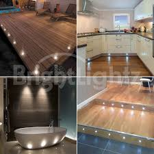 of 10 led deck lights decking plinth kitchen lighting set