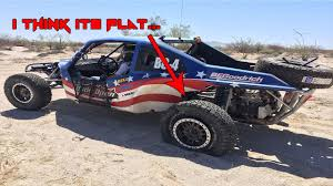 baja car wide open baja day 2 flat tire and beached car youtube