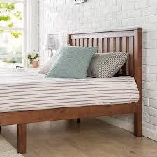 Wood Platform Bed Frame Winston Porter Dalila Solid Wood Platform Bed Reviews Wayfair
