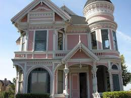 a fancy old victorian mansion in eureka photo