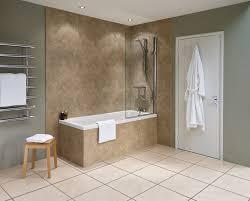 bathroom wall panels that look like tiles the bathroom wall