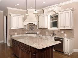 kitchen granite island luxury kitchen with granite island and window stock image image