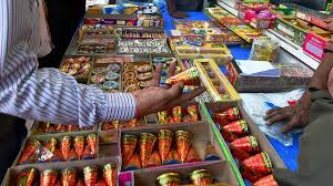 buy crackers from licensed shops officials