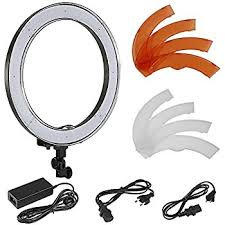 neewer led ring light amazon com neewer 18 inches ring light accessories kit plastic