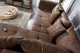 canapé cuir et microfibre sultan canapé d angle microfibres aspect cuir degriffmeubles com