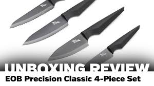 unboxing review edge of belgravia precision classic 4 piece set