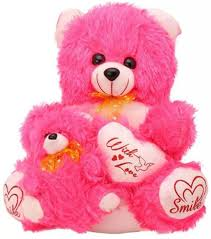 teddy bear writing paper pari pink teddy bear with baby 45 cm pink teddy bear with baby add to cart