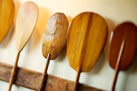Decorative Canoe Paddles Hawaii Oahu Old Hawaiian Canoe Paddles Pacificstock Canvas