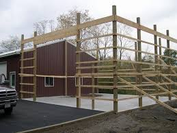how to build a pole barn construction friendly woodworking projects