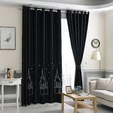 Black Curtains For Bedroom Modern 3d Blackout Curtains For Living Room Bedroom Boy