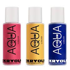kryolan aqua color liquid 150 ml en makeup theatrical make up