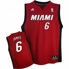 lebron no 6 miami heat jersey now available
