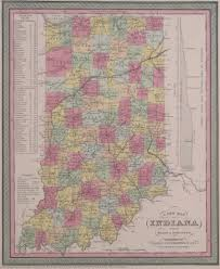 Maps Of Indiana Antique Maps Of Indiana