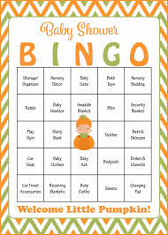 little pumpkin baby shower game download for boy baby bingo