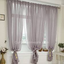 Heavy Grey Curtains Heavy Patterned Grey Polyester Bedroom Printed Sheer Curtain
