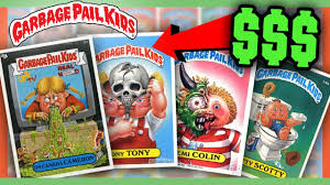 kid cards garbage pail kids cards worth money most valuable cards
