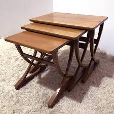 nathan furniture england nesting table 1960s 53918