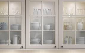 cabinet glass inserts for kitchen cabinets diy amazing glass