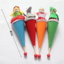 aliexpress com buy 4pcs lot little red riding hood puppet story