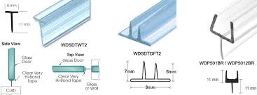 Sealing Glass Shower Doors Shower Door Seals Considerations Bath Decors