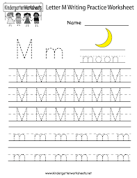 7 best images of letter m worksheets kindergarten letter