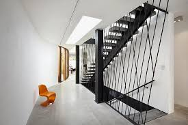house stairs stairs of clean and contemporary house for artist home building
