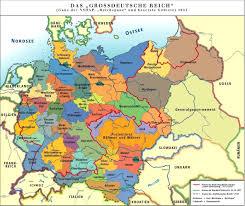 France And Germany Map by Grossdeutsches Reich Deutschland Und Die Ostmark