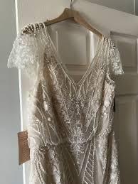 bhldn aurora wedding dress on sale 36 off