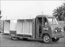 ford delivery truck ford and coca cola the coca cola company