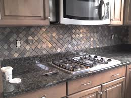 custom kitchen backsplash ceramictec multi color tumbled slate kitchen backsplash
