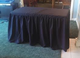 fitted vinyl tablecloths for rectangular tables outstanding craft fair table cover 10 steps with pictures for fitted