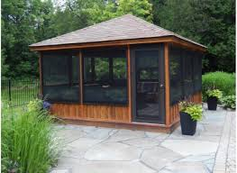 pergola screened gazebo kits sensational wood gazebo u201a favored