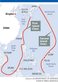 East China Sea Map Chinese Warships In S China Sea Exercise East Asia News U0026 Top