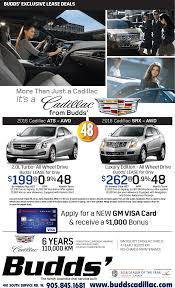 cadillac ats lease special ats srx lease special budds cadillac