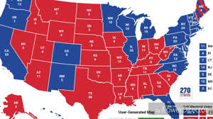 State College Map by Electoral College Map Saturday October 1 2016 The Latest Cnn