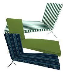 Sunbrella Chaise Cushions Clearance Sunbrella Chaise Cushion Outdoor Cushions Plow U0026 Hearth
