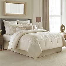 Bed Bath And Beyond Queen Comforter Manor Hill Verona Comforter Set In Natural Bed Bath U0026 Beyond