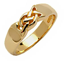 a knot ring celtic knot ring 14k gold