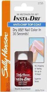 74170211252 sally hansen nail treatment insta dri anti chip top coat