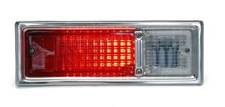 dakota digital led tail lights 1968 1969 chevy nova led tail lights dakota digital lat nr140
