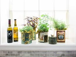 Window Sill Herb Garden Designs 5 Indoor Herb Garden Ideas Hgtv S Decorating Design Hgtv