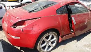 red nissan 350z nissan 350z stripping for spares matadoor salvage