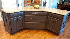 painted kitchen islands kitchen island update complete uniquely yours or mine